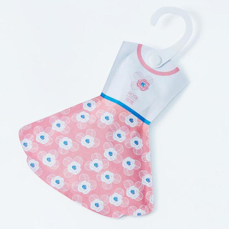 4C7A-Hanging-Wardrobe-Air-Freshner-Sachet-Perfume-Amazing-Flavors-Skirt-Shaped