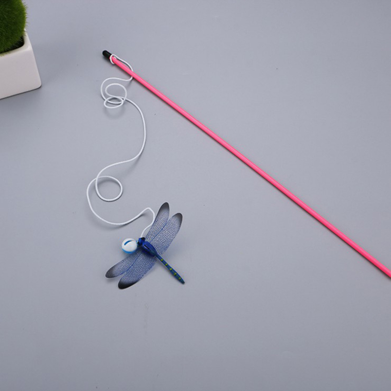 F335-Dragonfly-Teaser-Pet-Cat-Kitten-Toy-Wand-Fun-Funny-Play-Exercise-Tease