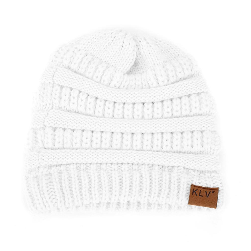 AB12-Fashion-Outdoor-Beauty-Sports-Ponytail-Hat-High-Bun-Beanies-Knit-Cap