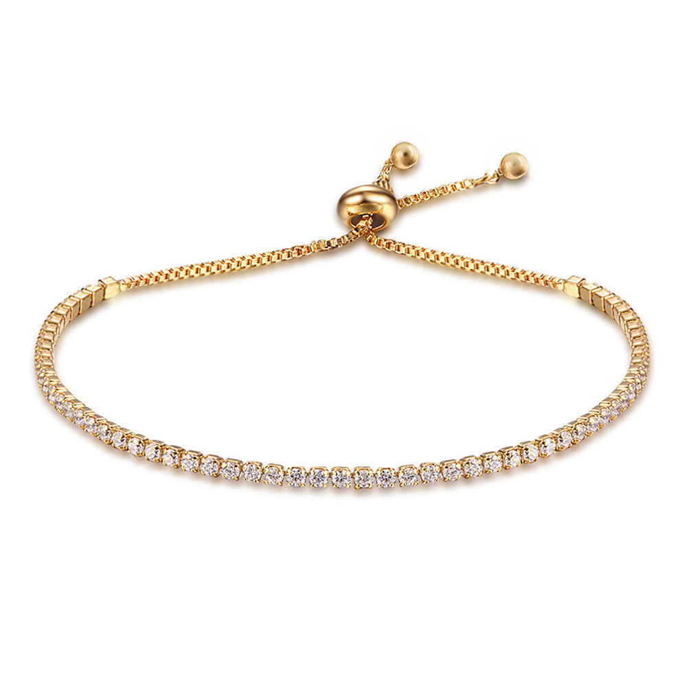 A9E2-Gifts-Women-Bangle-Diamonds-Crystal-Beauty-Rose-Gold-Accessories-Charm
