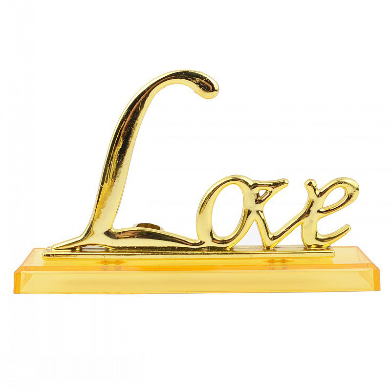 D151-Gold-Foil-Plating-24K-Gold-Exquisite-Photo-Frame-Base-Foil-Rose-LOVE